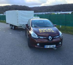 Permis B96 et BE remorque caravane I Auto-école Bar le Duc Ligny 55